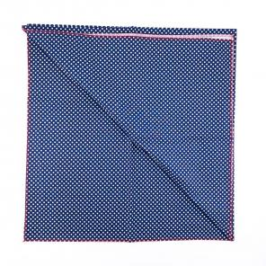 Furoshiki Fabric Wrap Blue Dotted